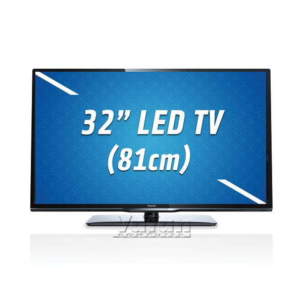 PHILIPS 32PFL3258H/13 32'' 81 cm,FULL HD LED TV,1920x1080,100 Hz,1xUSB,2XHDMI