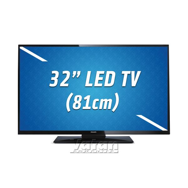 PHILIPS 32PFL3158H/12  32'' 81 CM FULL HD LED TV 100 HZ USB , 2XHDMI