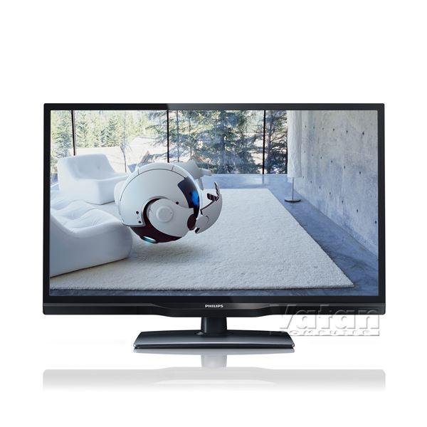 PHILIPS 24PFL3108H/12 24'' 61 CM,ULTRA SLİM HD LED TV,100 HZ,USB,HDM