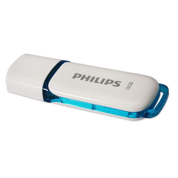PHILIPS 16GB Snow Mavi USB 2.0 USB Bellek