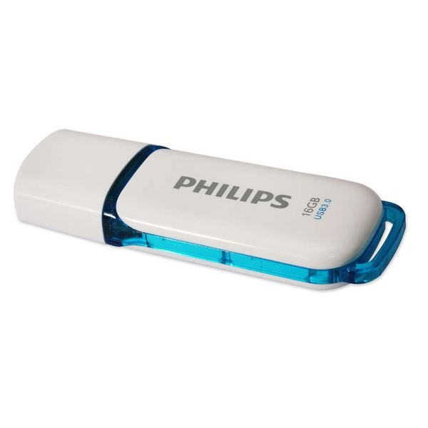PHILIPS 16GB Snow Mavi USB 3.0 USB Bellek
