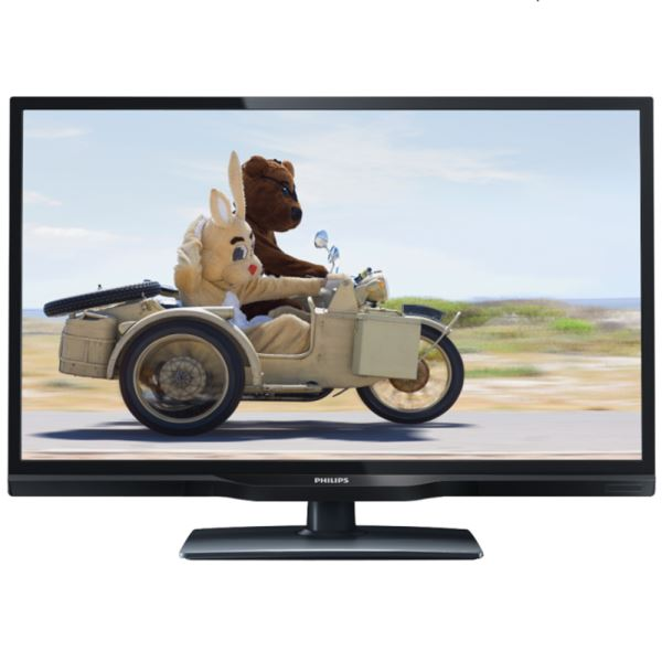 PHILIPS 24PHH4109/88 24 61 CM HD LED TV 100 HZ HDMI USB KAYIT