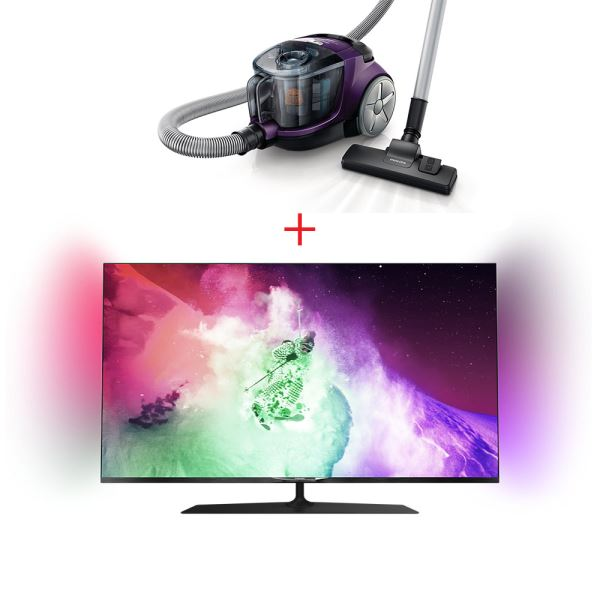 PHILIPS 49PUS7909/12 TV + PHILIPS FC8475 SÜPÜRGE BUNDLE KAMPANYASI