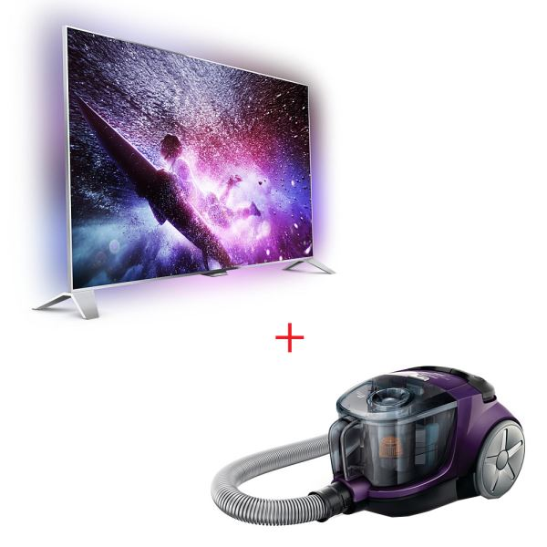 PHILIPS 55PFS8109/12 TV + PHILIPS FC8475 SÜPÜRGE BUNDLE KAMPANYASI