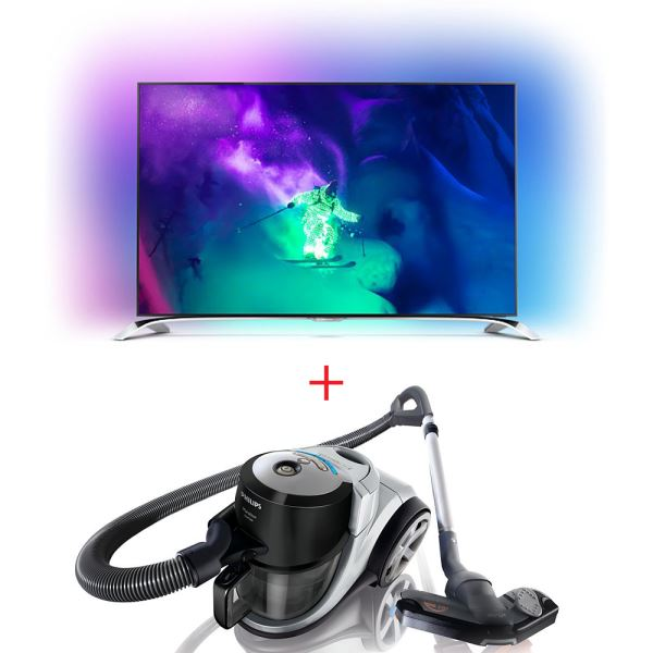 PHILIPS 65PUS9109/12 TV + PHILIPS FC9225 SÜPÜRGE BUNDLE KAMPANYASI