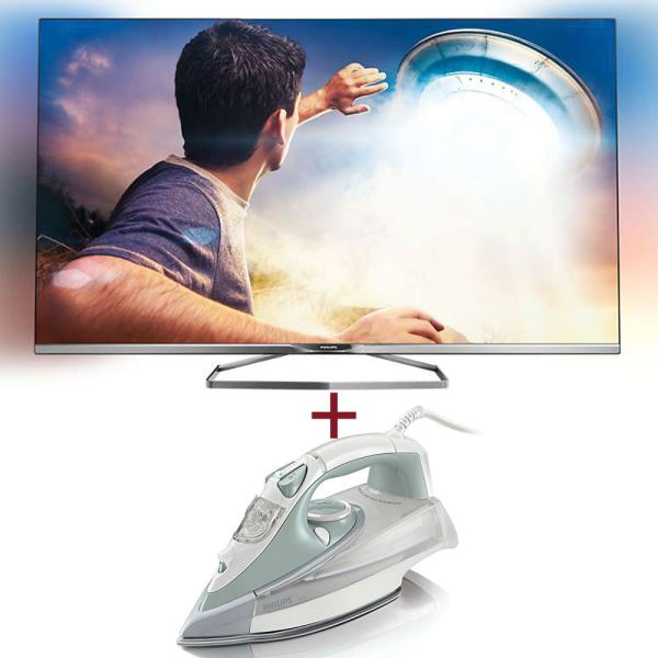PHILIPS 55PFK6309/12  TV + PHILIPS GC4845/35 ÜTÜ BUNDLE KAMPANYASI