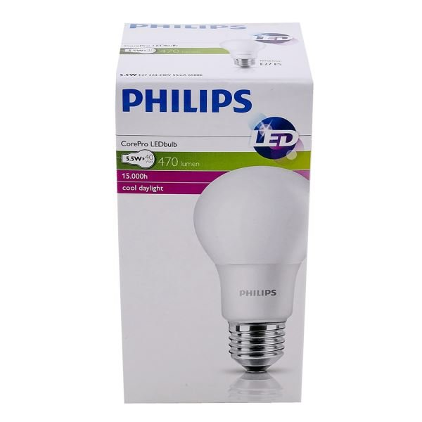 PHILIPS LED CorePro 5.5-40W E27 BEYAZ
