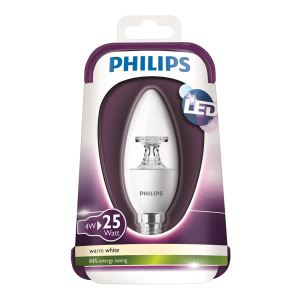 PHILIPS LED 25W E14 ŞEFFAF MUM SARI