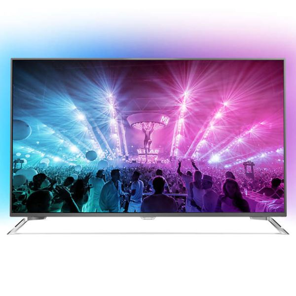 PHILIPS 49PUS7101  49'' 123 CM  4K UHD Android LED TV,DAHİLİ UYDU ALICILI