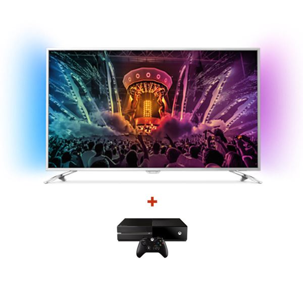 PHILIPS 55PUS6501 UHD LED TV + MICROSOFT XBOX ONE KONSOL BUNDLE KAMPANYASI