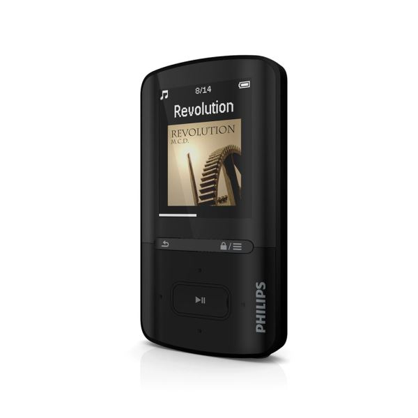 PHILIPS GOGEAR VİBE MP4 PLAYER 4GB(SİYAH)