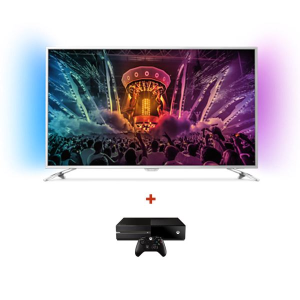 PHILIPS 55PUS6581 UHD LED TV + MICROSOFT XBOX ONE KONSOL BUNDLE KAMPANYASI