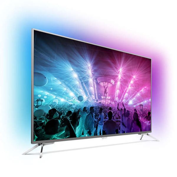 PHILIPS 65PUS7101 65''164 CM 4K UHD ANDROID SMART LED TV,DAHİLİ UYDU ALICI