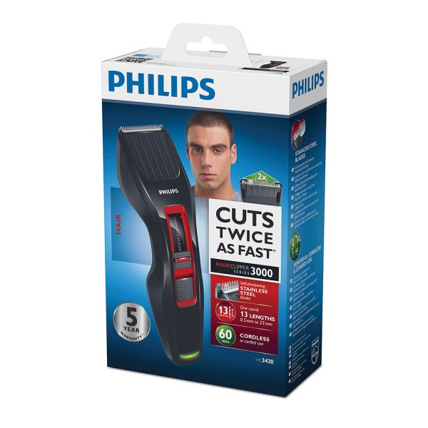 PHILIPS HC3420/15 HAİRCLİPPER SERİES 3000 SAÇ KESME MAKİNESİ
