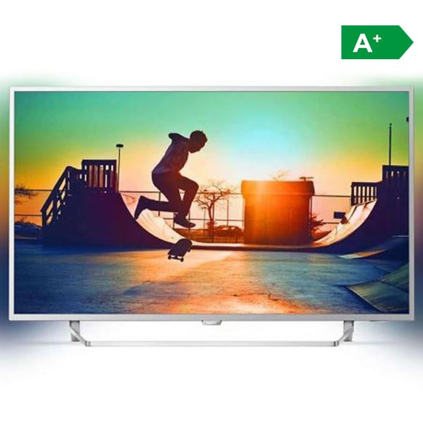 PHILIPS 55PUS6412 55'' 139 CM 4K UHD ANDROID TV, 2 TARAFLI AMBILIGHT,DAHİLİ UYDU
