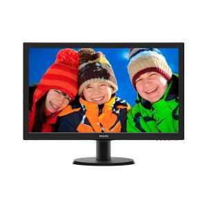 "PHILIPS 23,6"" 243V5LHAB/00 1ms W-LED HDMI-DVI Full HD Oyuncu Monitörü"