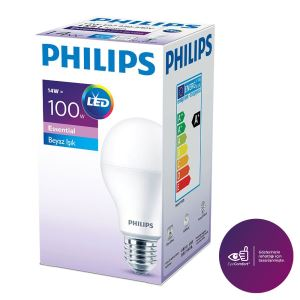 PHILIPS ESS LEDBulb 14-100W BEYAZ IŞIK NORMAL DUY
