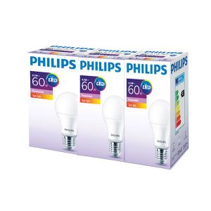 PHILIPS ESS LED 8.5-60W SARI IŞIK NORMAL DUY 3'LÜ EKOPAKET