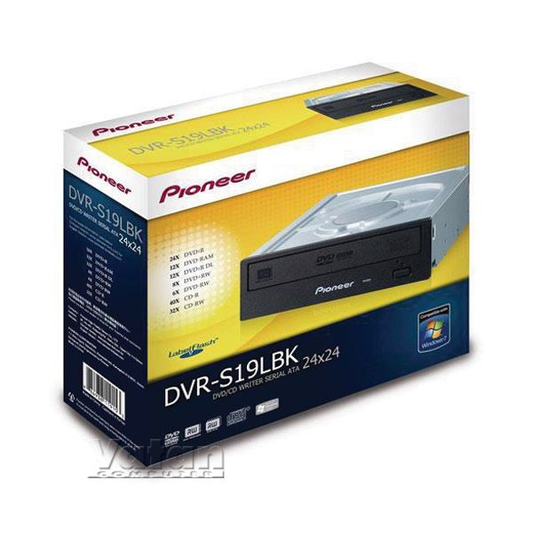 DVR-S19LBK 24X ± DOUBLE LAYER LABELFLASH SATA DVD YAZICI SİYAH