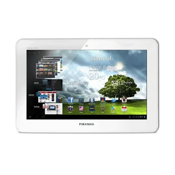 Business Tab 10.1 Beyaz ARM CORTEX A10 1.4 GHZ-1GB DDR3-8GB-10.1''-ANDROİD 4