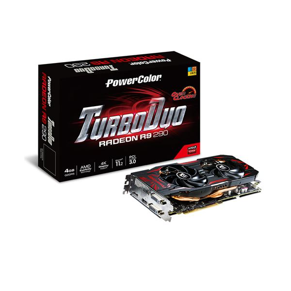 Powercolor R9 290 TurboDuo GDDR5 4GB 512Bit AMD Radeon DX11.2 Ekran Kartı