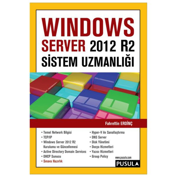 Windows SERVER 2012 sistem uzmanlığı