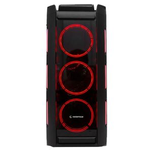 RAMPAGE MAJOR 4x120mm RGB FAN USB 3.0 MidT ATX GAMING KASA