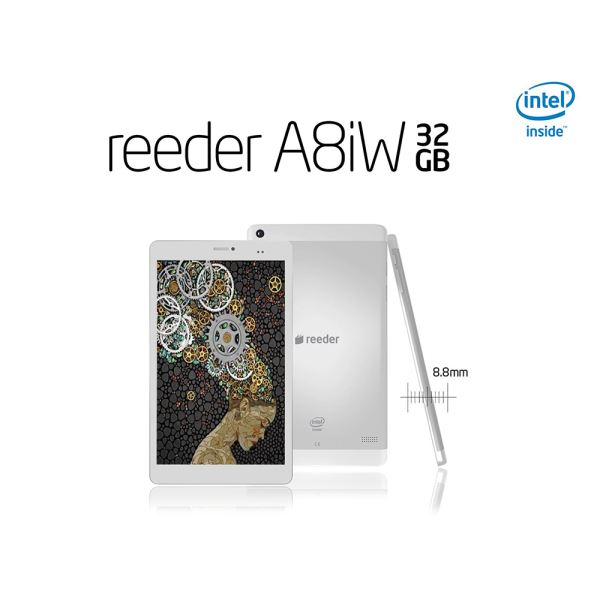 REEDER A8iW INTEL ATOM Z3735G 1.83GHZ-1GB-32GB DİSK-8''-CAM-BT-AND.4.4