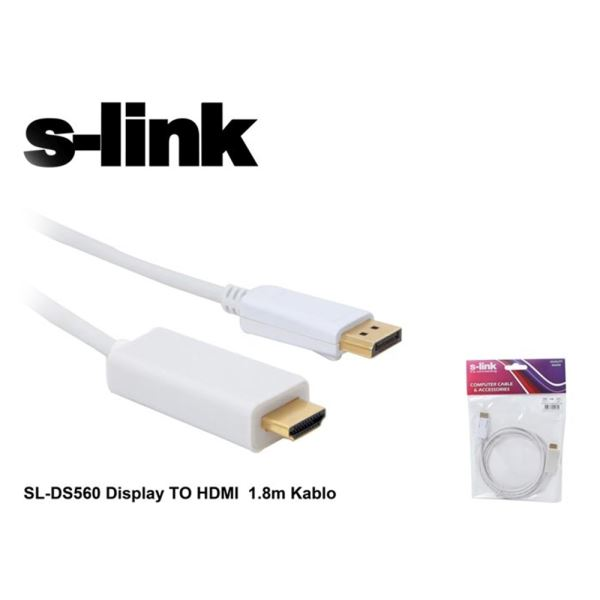 SL-DS560 DISPLAY DEN HDMI KABLO 1.8M