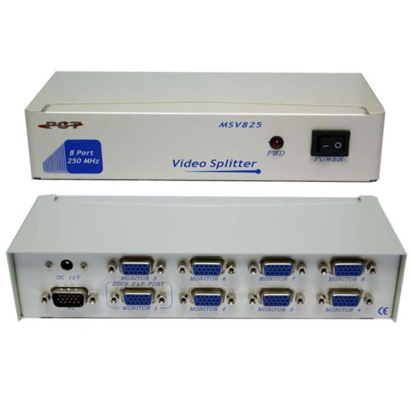 S-LINK MSV 825 8 PORT SWITCH