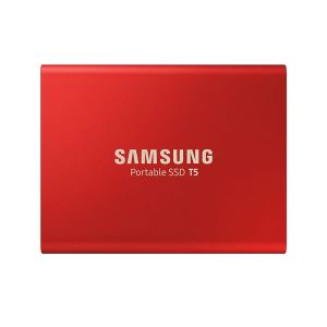 Samsung 500GB Portable SSD T5 USB 3.1 (Okuma 540MB / Yazma 540MB) Red SSD