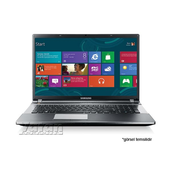 NP550P7C NOTEBOOK CORE İ7 2.40GHZ-8GB-750GB-17.3-2GB-WIN8 TASINABİLİR BİLGİSAYAR