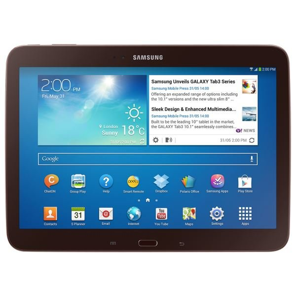 P5210-N GALAXY TAB3 NAT ATOM Z2560 1.6GHZ-1GB-16GB DISK-10.1''-ANDROID 4.2-510GR