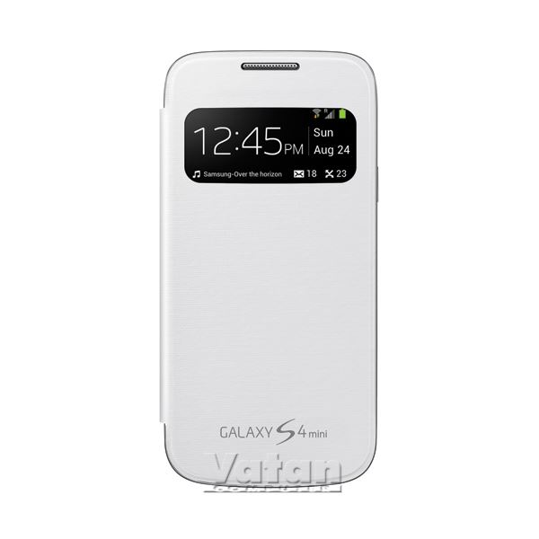 EF-CI919BWEGWW S-VİEW COVER GALAXY S4 MİNİ KILIFI- (BEYAZ)