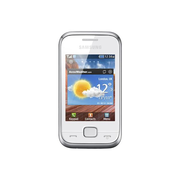SAMSUNG C3310 CEP CHAMP DELUXE PEARL WHITE