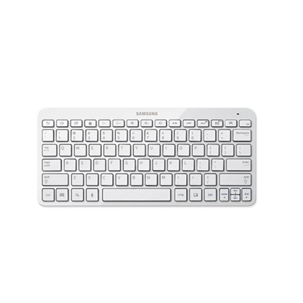 BT Keyboard (White)-P900 ile