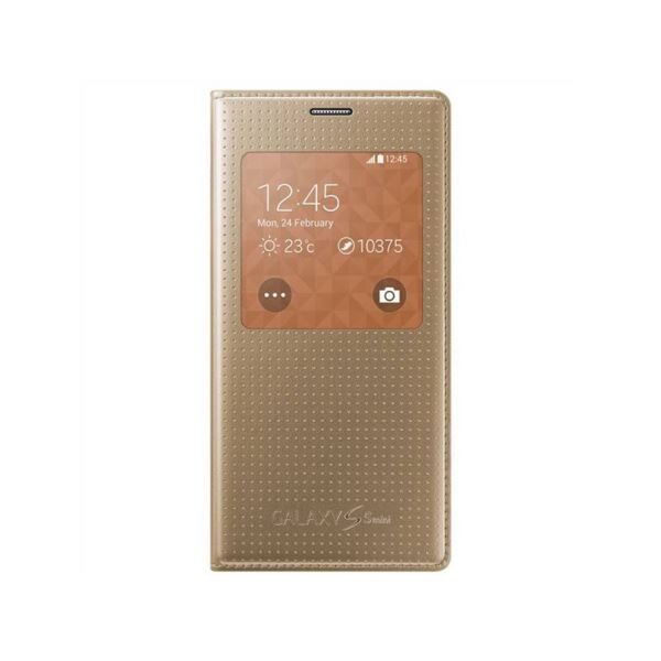 EF-CG800BDEGWW S-VİEW COVER GALAXY S5 MİNİ KILIF- (ALTIN)