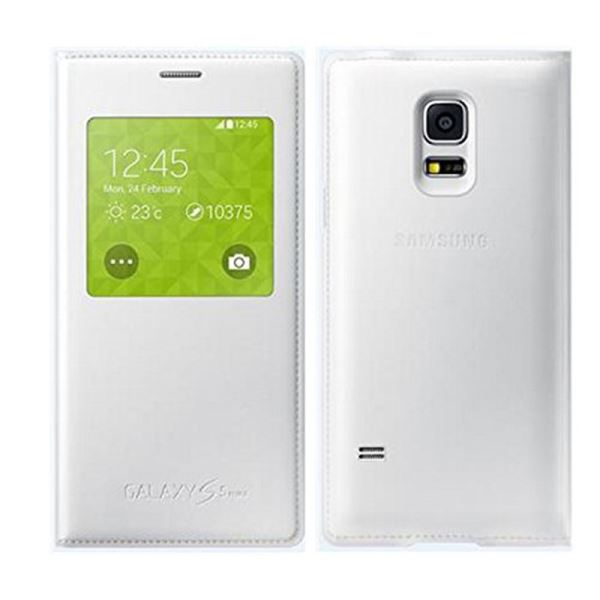 EF-CG800BHEGWW S-VİEW COVER GALAXY S5 MİNİ KILIF- (BEYAZ)