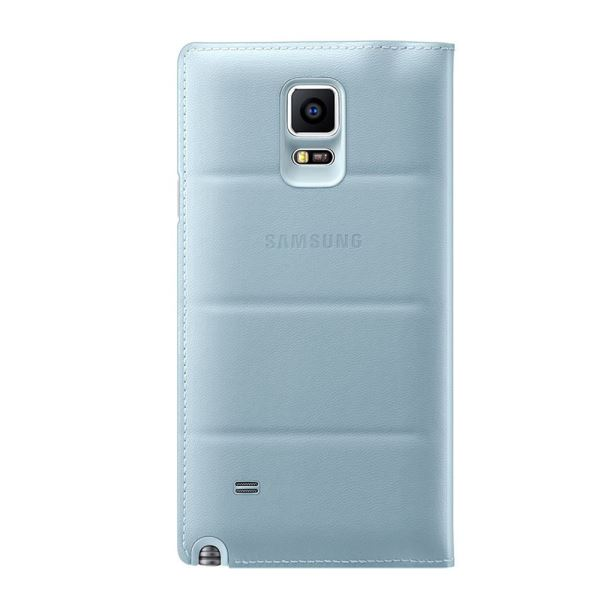 EF-CN910BMEGWW S-VİEW COVER GALAXY NOTE4 KILIFI- (MAVİ)