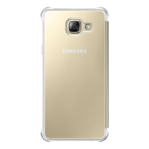 EF-ZA510CFEGWW CLEAR VİEW GALAXY A5(2016) KILIF- (ALTIN)
