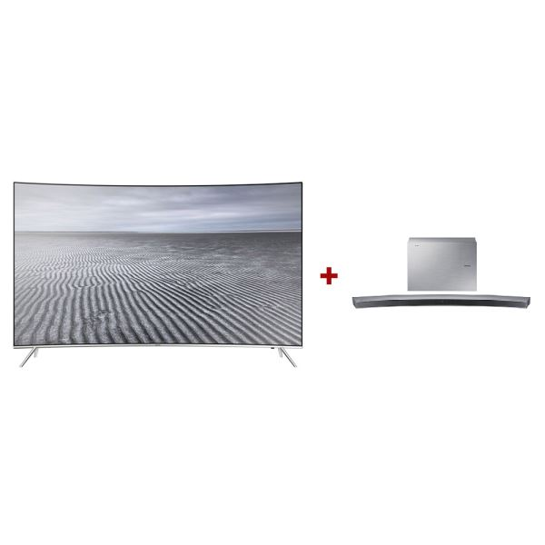 SAMSUNG 55KS8500 CURVED SUHD SMART LED TV+ HW-J6001 SoundBar Bundle Kampanyası