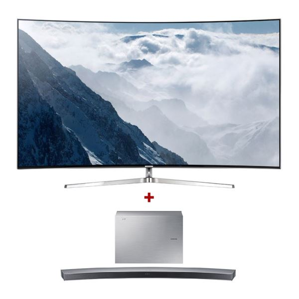 SAMSUNG 55KS9500 CURVED SUHD SMART LED TV+ HW-J6001 SoundBar Bundle Kampanyası