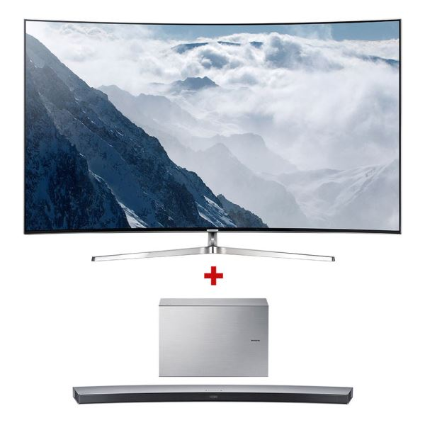 SAMSUNG 65KS9500 CURVED SUHD SMART LED TV+HW-J7501/TK SoundBar Bundle Kampanyası