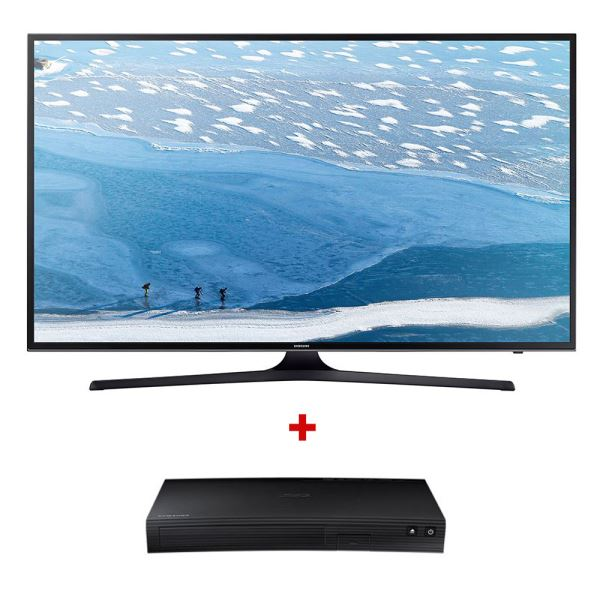 SAMSUNG 43KU7000 4K UHD SMART LED TV+ BD-J5500 BluRay Oynatıcı Bundle Kampanyası