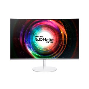 "SAMSUNG 31,5"" LC32H711 4ms FreeSync QHD Curved QLED Gaming Monitör"