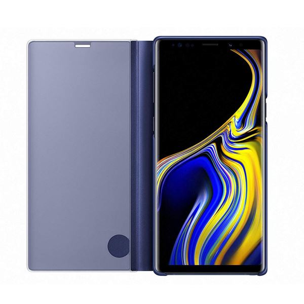 EF-ZN960CLEGWW SAMSUNG NOTE 9 CLEAR VİEW STANDİNG KILIF LACİVERT