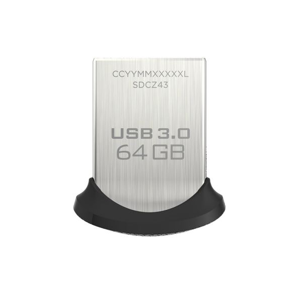 Sandisk 64GB Ultra Fit USB 3.0 Bellek