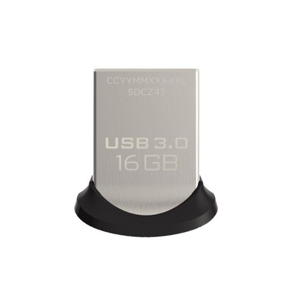 Sandisk 16GB Ultra Fit USB 3.0 Bellek