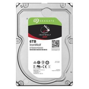 "Seagate IRONWOLF 3.5"" 6TB Sata 3.0 256MB Cache 7200 RPM NAS Harddisk"