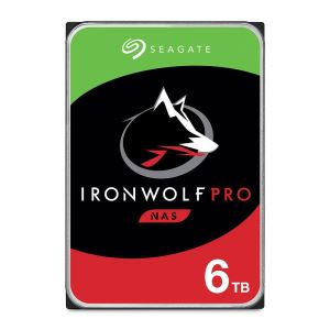 "Seagate IRONWOLF PRO 3.5"" 6TB Sata 3.0 256MB Cache 7200RPM NAS Harddisk"